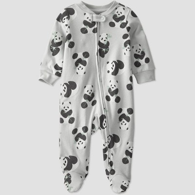 Baby Panda Sleep N' Play - little planet by carter's Gray