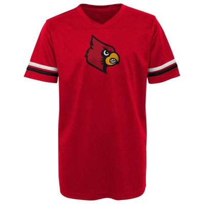 NCAA Louisville Cardinals Boys' Short Sleeve Jersey