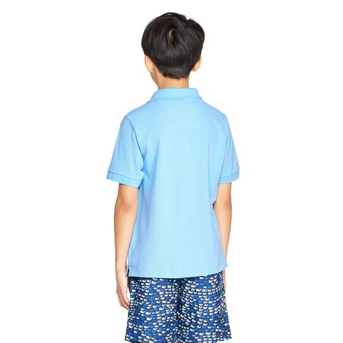 d9d301e6b Boys' Short Sleeve Polo Shirt - Light Blue - Vineyard Vines® For Target :  Target
