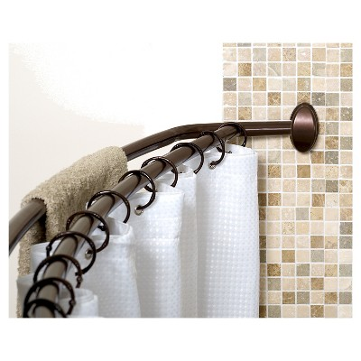 Home NeverRust Double Curved Shower Rod   Zenna Home : Target