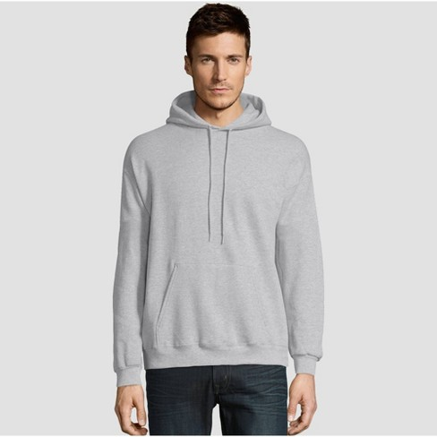Hanes Men's EcoSmart Fleece Pullover Hooded Sweatshirt - image 1 of 3