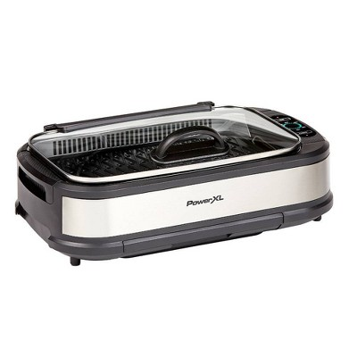 PowerXL Smokeless Grill Pro - Silver