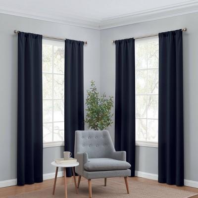 Set of 4 Ferris Room Darkening Curtain Panels - Eclipse