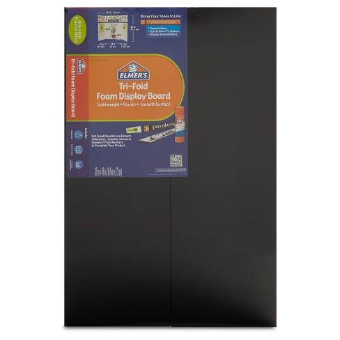 """Elmer's 36"""" x 48"""" Tri-Fold Foam Presentation Board - Black - image 1 of 4"""
