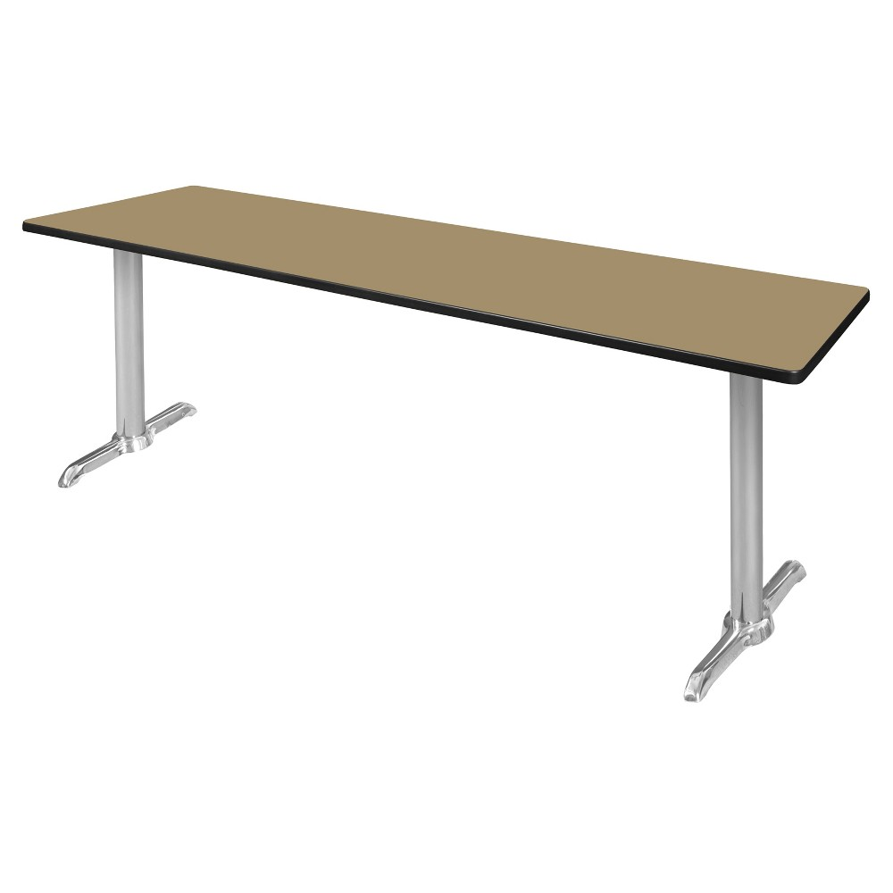 84 Via Training Table Gold/Chrome (Gold/Grey) - Regency