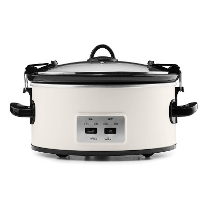 Crock Pot 6qt Cook and Carry Programmable Slow Cooker - Hearth & Hand with Magnolia
