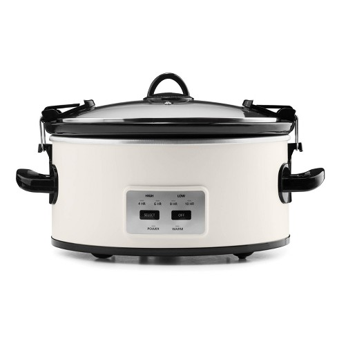 Crock Pot 6qt Cook and Carry Programmable Slow Cooker - Hearth & Hand with Magnolia - image 1 of 4