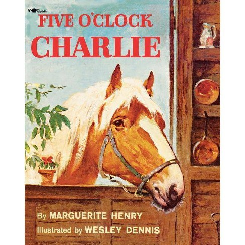 Five O'Clock Charlie - by  Marguerite Henry (Paperback) - image 1 of 1