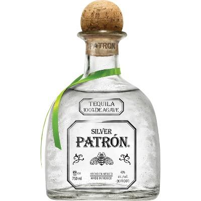 Patrón Silver Tequila - 750ml Bottle