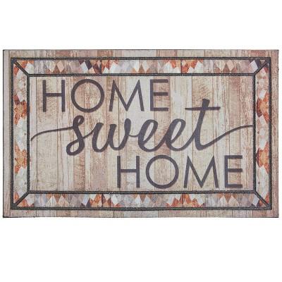 """1'6""""x2'6"""" Rustic Sweet Home Doorscapes Mat - Mohawk"""