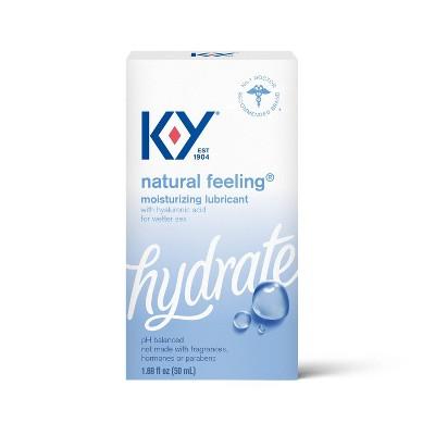 K-Y Natural Feeling Moisture Plus - 1.69oz