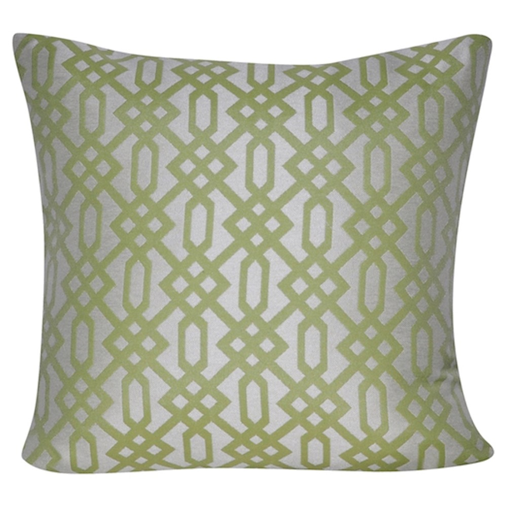 Lime (Green) Throw Pillow - Loom & Mill