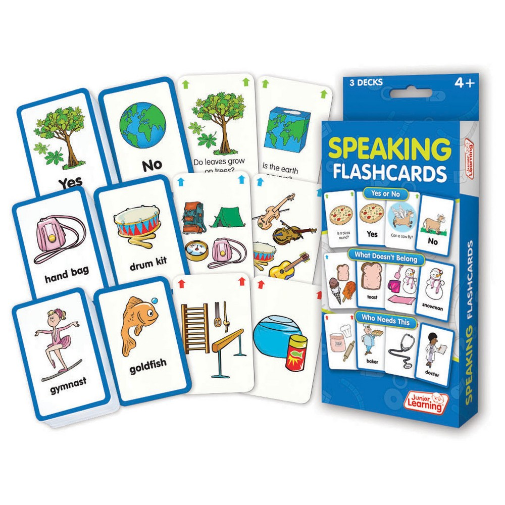 Image of Junior Learning Speaking Flashcards