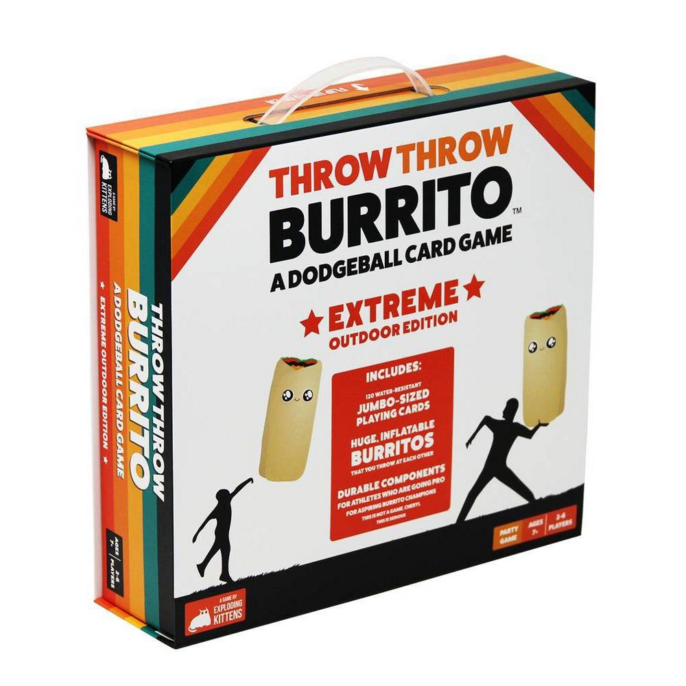 Throw Throw Burrito Extreme Edition