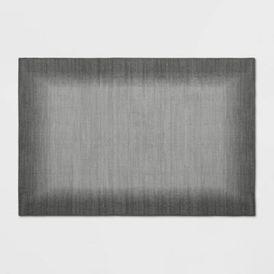 2'X3' Good Fashion Border Rug Gray - Room Essentials™