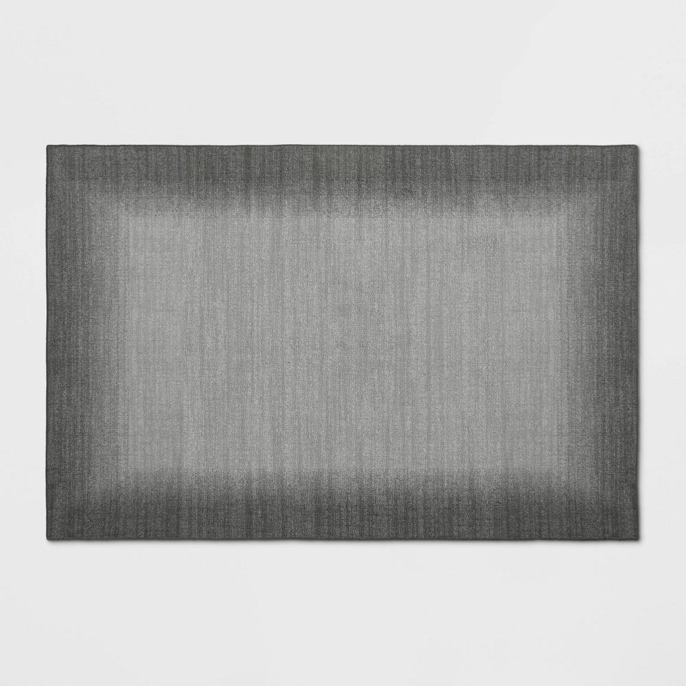 2 39 X3 39 Good Fashion Border Rug Gray Room Essentials 8482