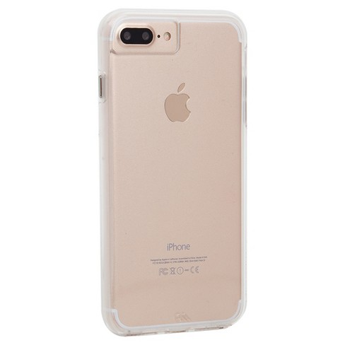 low priced a2fae 00205 Case-Mate iPhone 8 Plus/7 Plus/6s Plus/6 Plus Case Naked Tough - Clear