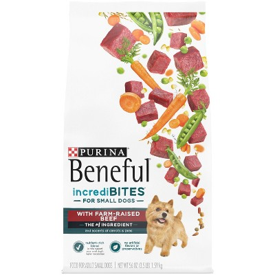 Purina Beneful IncrediBites with Real Beef Small Dog Adult Dry Dog Food