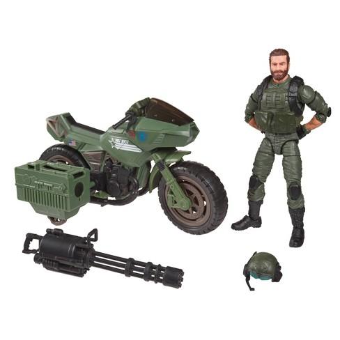 "G.I. Joe Classified Series Alvin ""Breaker"" Kibbey with RAM Cycle - image 1 of 4"