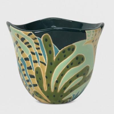 8  Botanical Focal Planter Green - Opalhouse™