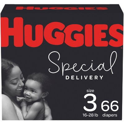 Huggies Special Delivery Hypoallergenic Diapers Super Pack - Size 3 (66ct)