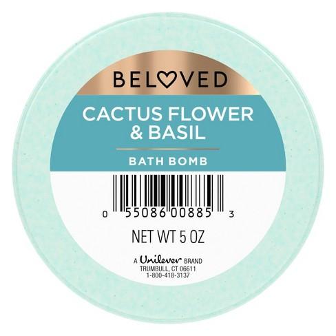 Beloved Cactus Flower & Basil Bath Bomb - 1ct/3.9oz - image 1 of 4