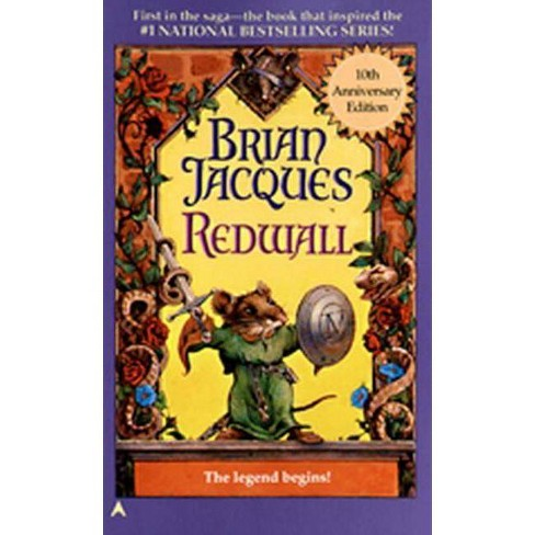 Redwall - 20 Edition by  Brian Jacques (Hardcover) - image 1 of 1
