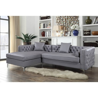 Monet Left Facing Sectional Sofa - Chic Home Design