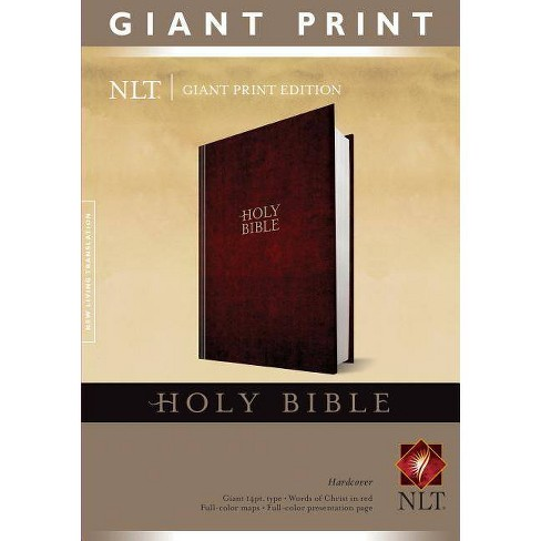 Giant Print Bible-NLT - (Hardcover) - image 1 of 1
