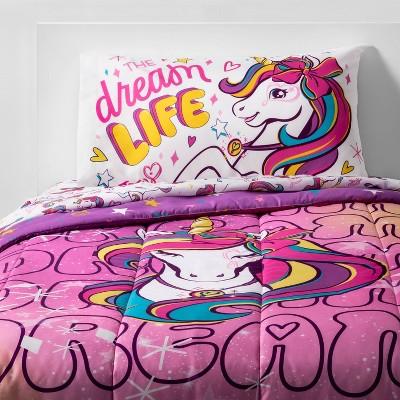 Twin JoJo Siwa Dream Unicorn Bed in a Bag