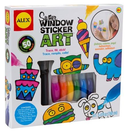 Alex Toys Craft Super Window Sticker Art - image 1 of 4