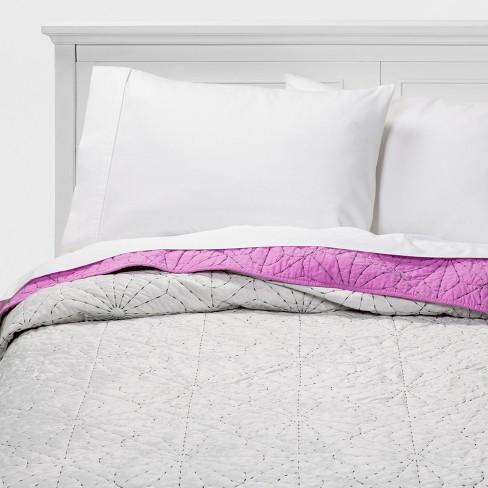 Velvet Stitch Quilt - Pillowfort™ - image 1 of 6