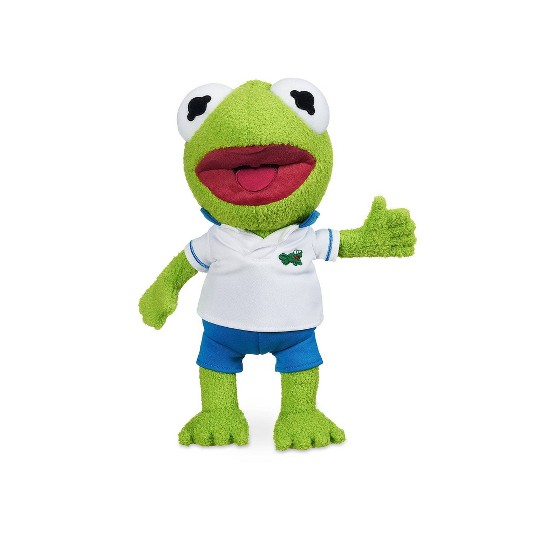 Disney Junior Muppet Babies Small Kermit Plush - Disney store image number null