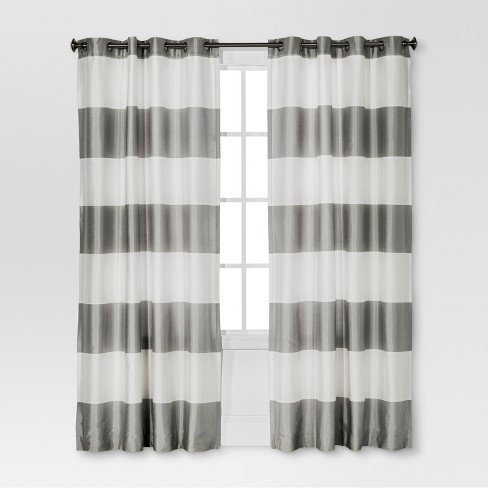 Bold  Curtain Panel - Threshold™ - image 1 of 4