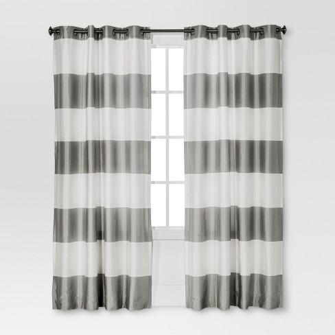 Bold Curtain Panel Threshold Target
