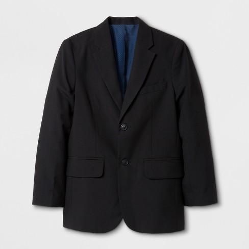 Boys' Suit Jacket - Cat & Jack™ Black - image 1 of 2