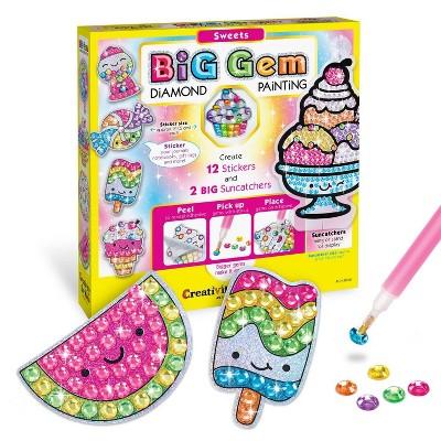 Creativity for Kids Big Gem Diamond Painting Kit - Sweets