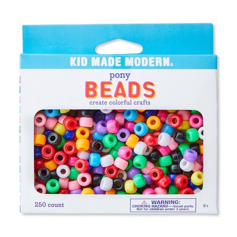 Kid Made Modern 250ct Pony Beads - image 1 of 4