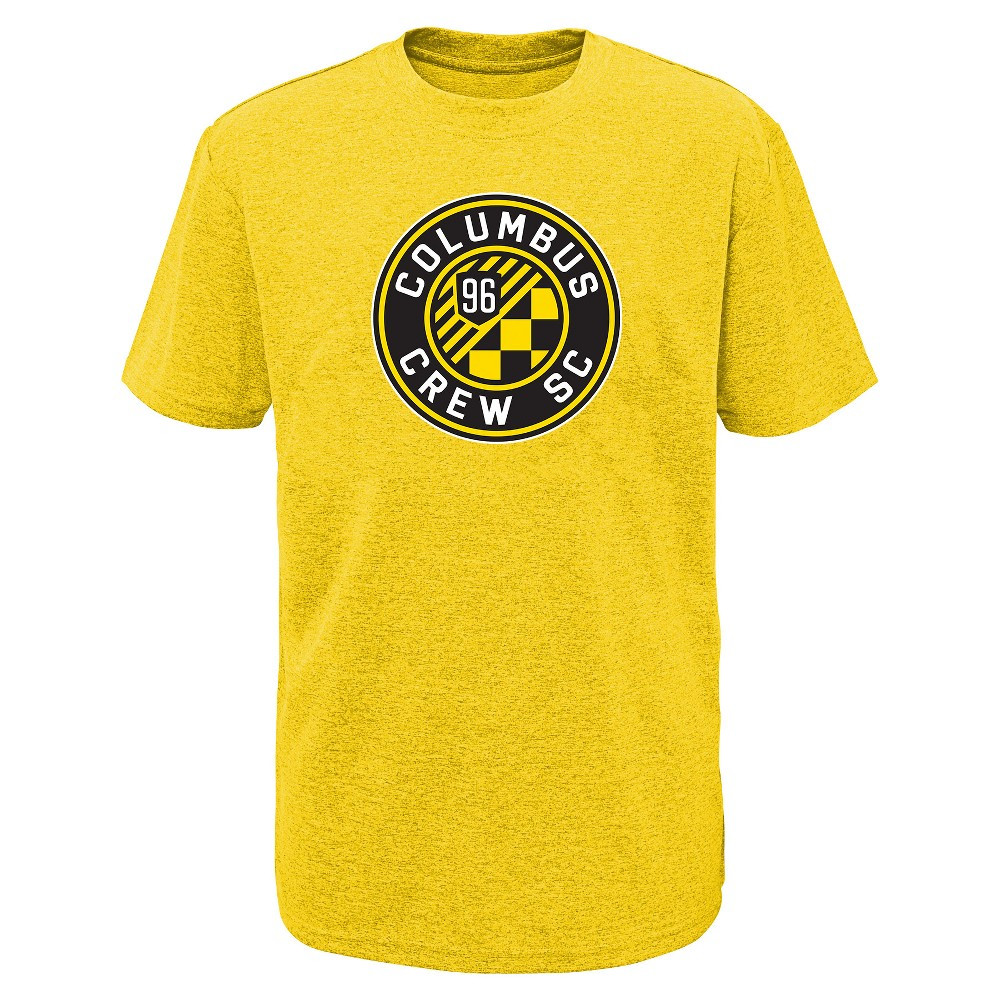 Mls Boys Poly T-Shirt Columbus Crew - S, Multicolored
