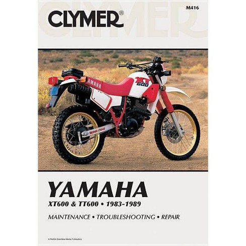 Yamaha Xt600 & Tt60 83-89 - (Clymer Manuals: Motorcycle Repair) by  Penton (Paperback) - image 1 of 1