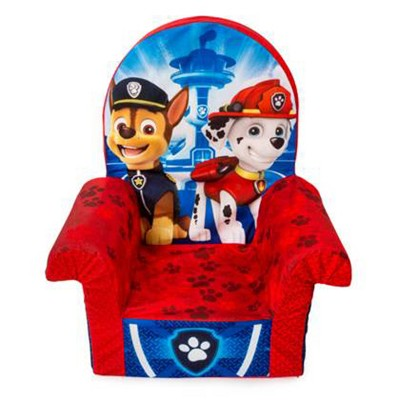 Marshmallow Furniture Foam Toddler High Back Chair Kid's Furniture For Ages 18 Months Old And Up, Paw Patrol : Target