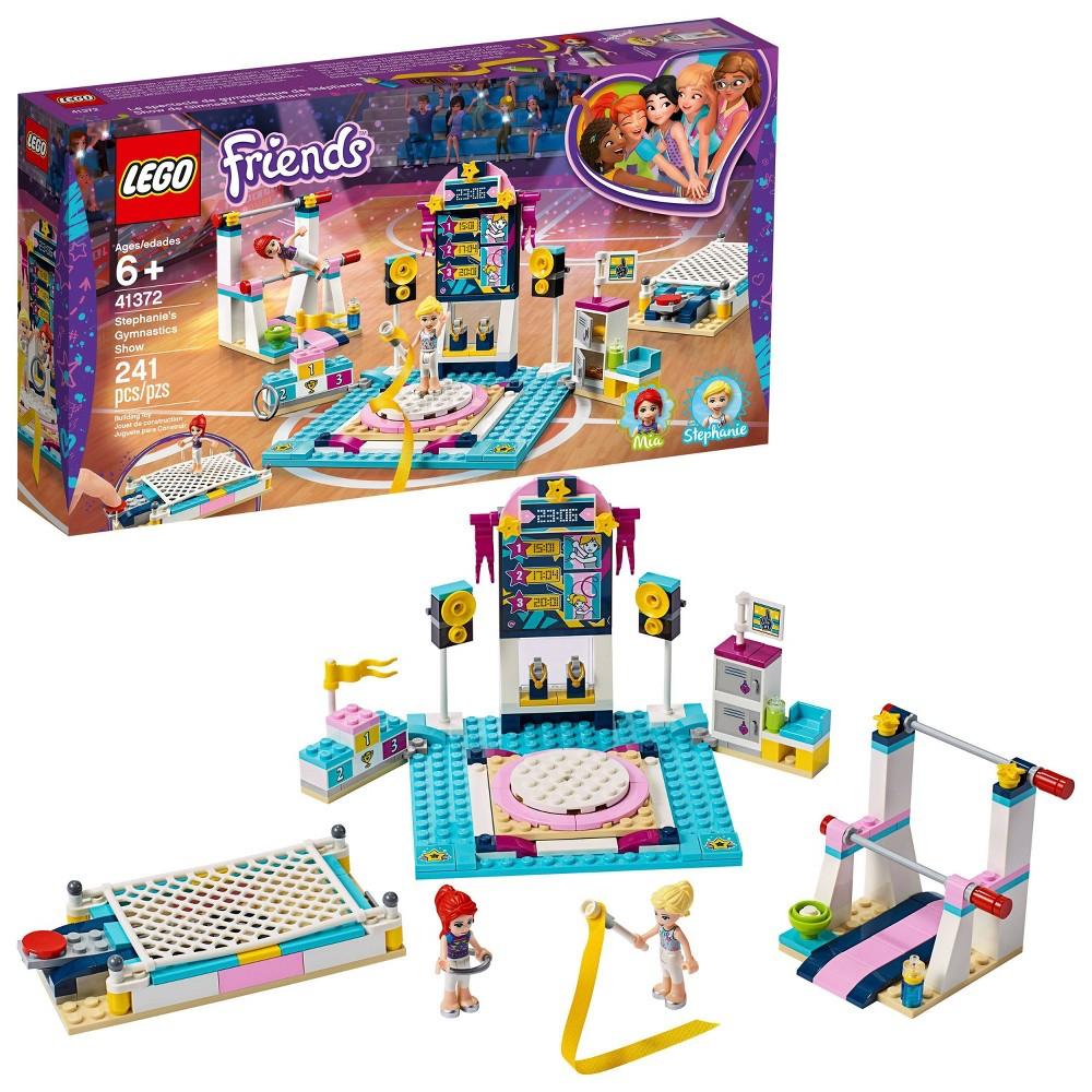 LEGO Friends Stephanie's Gymnastics Show Building Set with Gymnastics Toys 41372