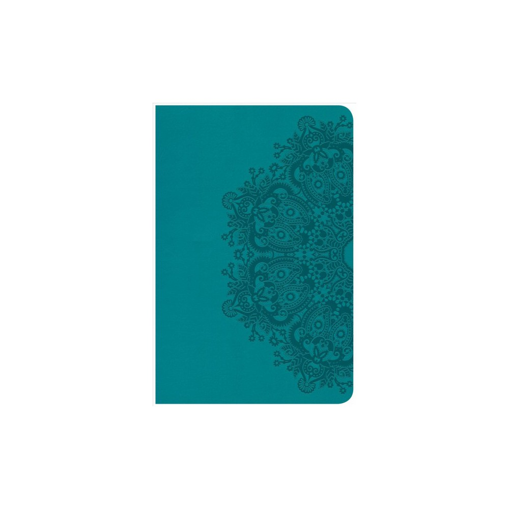 Holy Bible : Christian Standard Bible, Teal, Leathertouch, Ultrathin Reference Bible - Compact