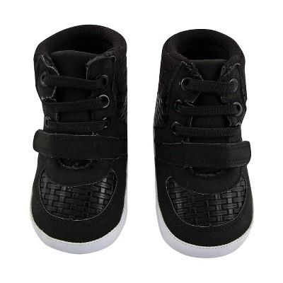 Baby Boys' Rising Star High Top - Black 3-6M