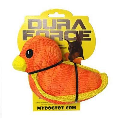 DuraForce Duck Dog Toy - Orange