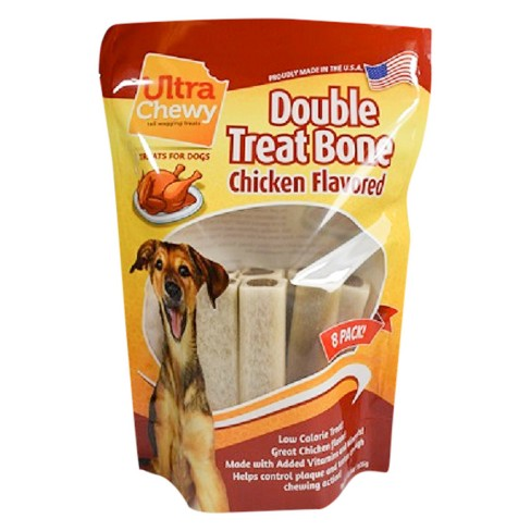 Ultra Chewy Double Treat Value Pack Chicken Dog Target