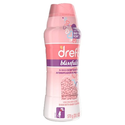 Dreft Blissfuls Baby Fresh Scent In-Wash Scent Booster Beads - 20.1oz