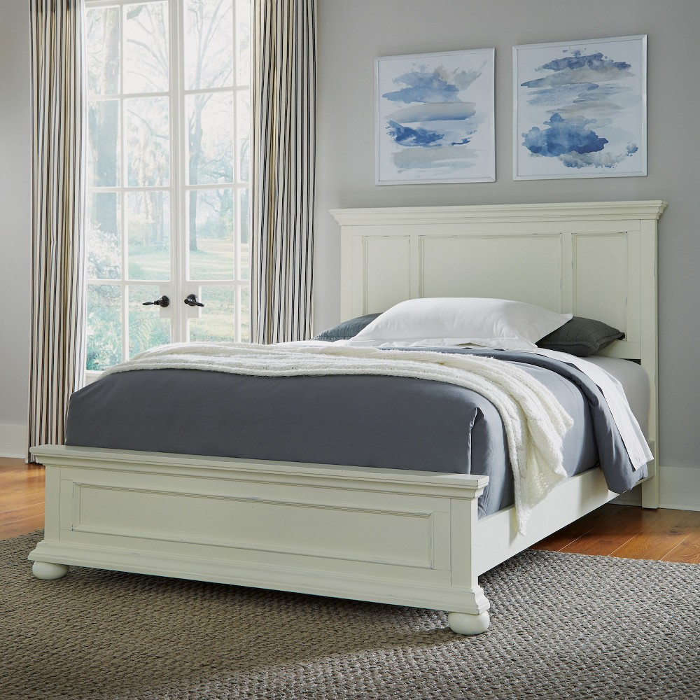Home Styles Queen Dover Bed White