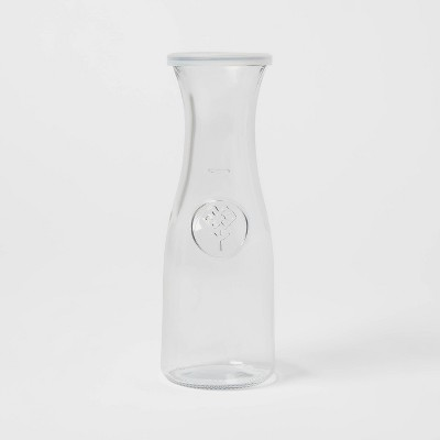 17oz Glass Carafe with Lid - Threshold™