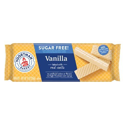 Voortman Sugar Free Vanilla Wafers - 9oz - image 1 of 4